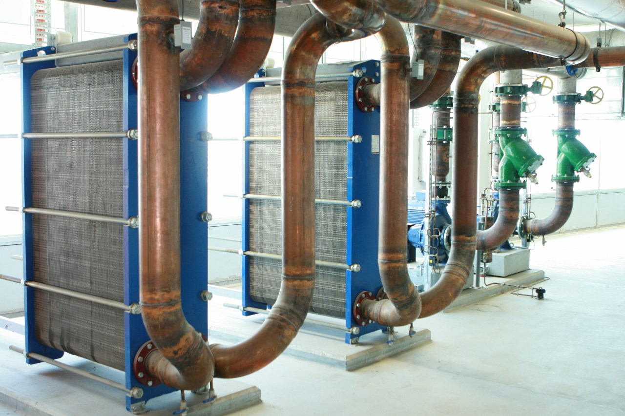 Chillers | CCW Plate Heat Exchangers