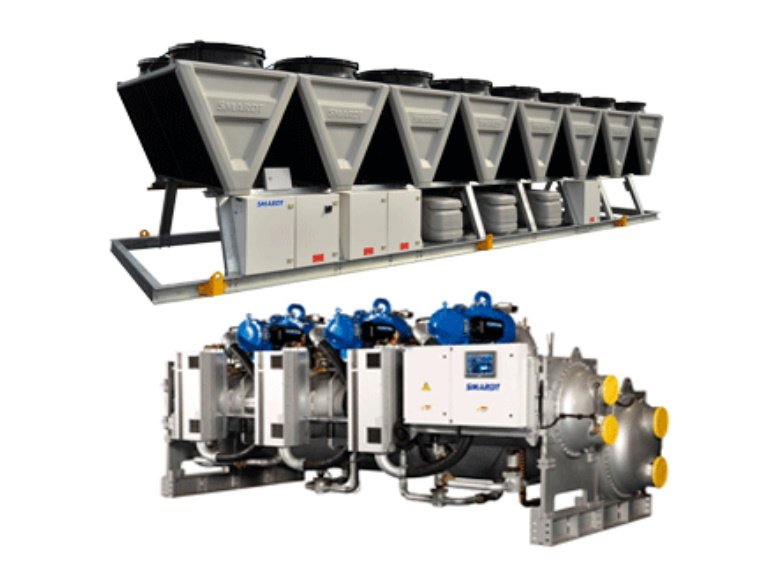 Chillers | Smardt | Air & Water Cooled