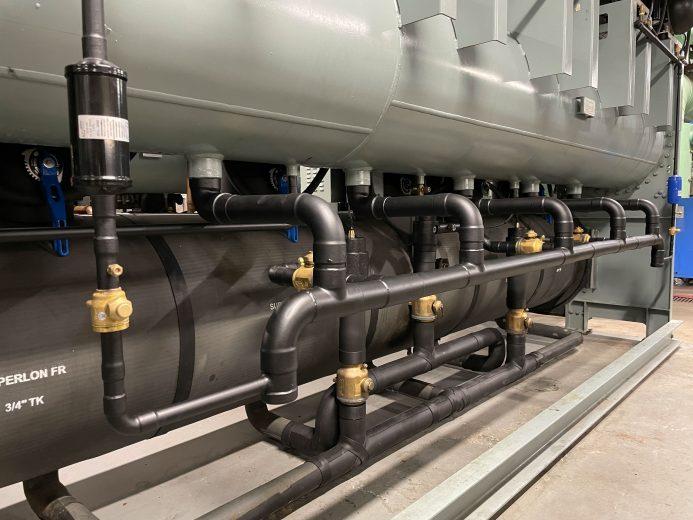 Crown | New Liquid Line Pipe Work | Upgrade 2021
