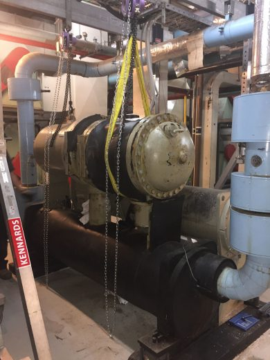 Trane RTHB | Compressor Removal